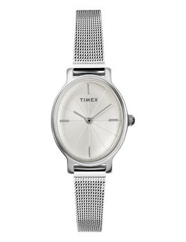 Milano Oval 24mm Mesh Band Watch by Timex