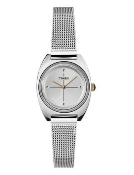 Milano Petite 24mm Stainless Steel Mesh Band Watch by Timex