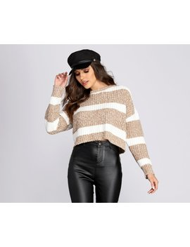 Soft In Stripes Sweater by Windsor