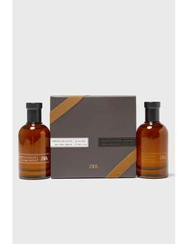 Zara Tobacco Intense Dark Exclusive Edt 100 Ml (3.4 Fl. Oz) + Rich Warm Addictive by Zara