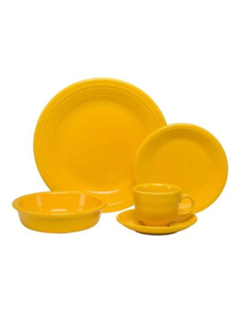 Fiesta® 5 Piece Place Setting In Sunflower by Bed Bath And Beyond