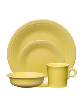 Fiesta® Dinnerware Collection In Sunflower by Bed Bath And Beyond