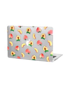 Peaches Mac Book Case by Velvet Caviar