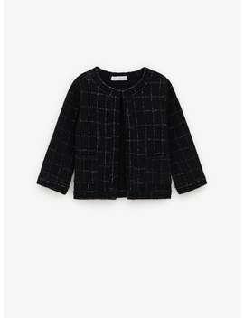 Chaqueta Tweed by Zara