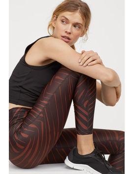 Sports Leggings High Waist by H&M