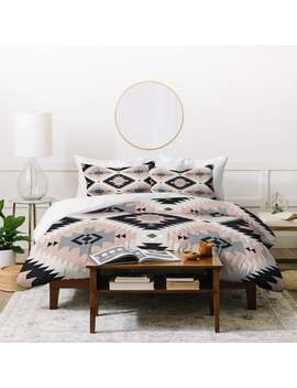 Deny Designs Southwestern Geometric Duvet Cover Set (3 Piece Set) by Deny Designs