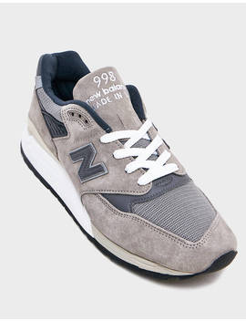 998 Sneaker In Grey by New Balance New Balance