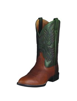 Heritage Stockman Western Boot by Ariat
