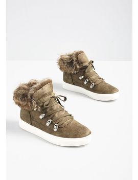Just Fur You Sneaker by Modcloth