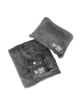 Grey Nap Sac Travel Blanket &Amp; Pillow by Container Store