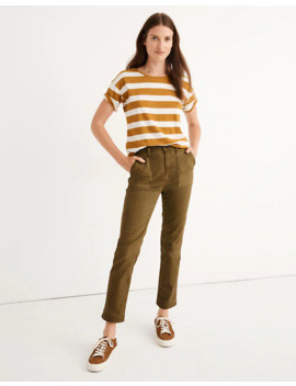 Stovepipe Fatigue Pants: Tencel™ Lyocell Edition by Madewell