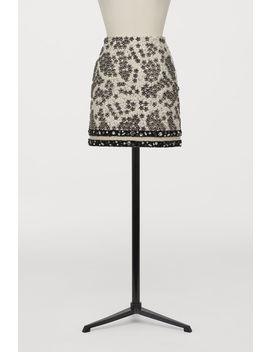 Spódnica Z Ręcznym Haftem by H&M