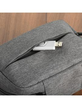Grey Gadget Case by Container Store