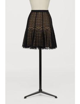Spódnica Z Koralikowym Haftem by H&M