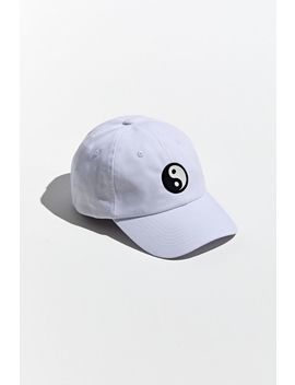 Yin Yang Rubber Patch Baseball Hat by Urban Outfitters