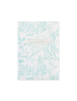 2020 12 Month Planner Blue Fern by Pierre Belvedere