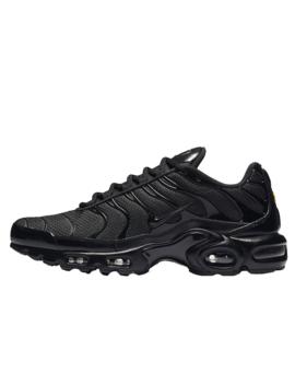 Nike Tn Air Max Plus Triple Black | 604133 050 by The Sole Supplier