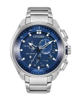 Eco Drive Proximity Pryzm Stainless Steel Bracelet Watch by Citizen