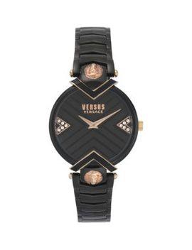 Mabillon Stainless Steel & Swarovski Crystal Bracelet Watch by Versus Versace