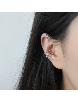 Phoenoa   925 Sterling Silver Ear Cuff (Various Designs) by Phoenoa