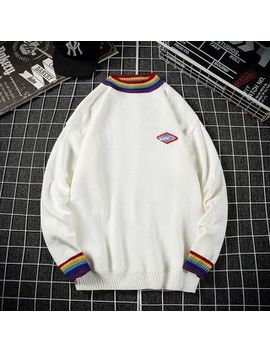 Yergo   Striped Sweater by Yergo