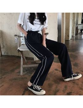 Kojasmine   Striped Side Sweatpants by Kojasmine