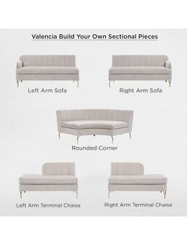 Build Your Own   Valencia Sectional Pieces by West Elm