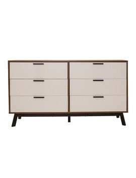 Aspen 6 Drawer Dresser Vintage Reddish/Brown   Loft 607 by Loft607