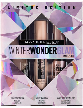 Online Only Winter Wonderglam Mini Eye Kit by Maybelline