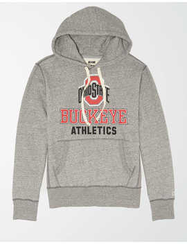 Tailgate Men's Osu Buckeyes Fleece Hoodie by American Eagle Outfitters