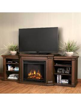 Valmont Tv Stand For T Vs Up To 78 Inches With Fireplace Included by Real Flame