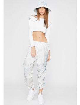 Chlorine Denim Drawstring Pants by Riccetti Clothing