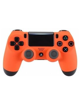 """""""Soft Touch Orange"""" Ps4 Pro Custom Un Modded Controller Exclusive Unique Design Cuh Zct2 by Modded Zone"""