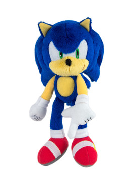 """Sonic The Hedgehog, Collector Series Classic Sonic 8"""" Plush, Sonic Boom Stuffed Animal by Tomy"""