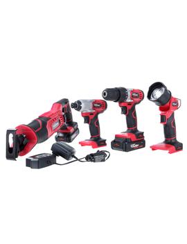 Hyper Tough Ht 20 Volt 4 Tool Combo Kit Aq90146 G by Hyper Tough
