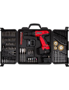 Stalwart 18 Volt Cordless Drill, With 89 Piece Drill Set, 75 Cd91 by Stalwart
