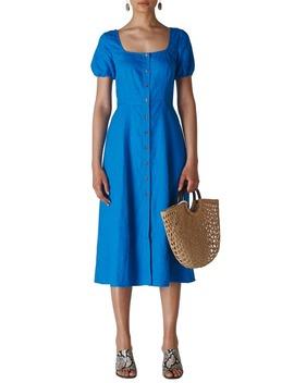 Remi Linen Midi Dress by Whistles