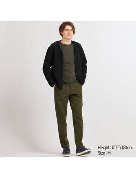 "Ezy Relaxed Fit Ankle Pants (Tall   31"") by Uniqlo"