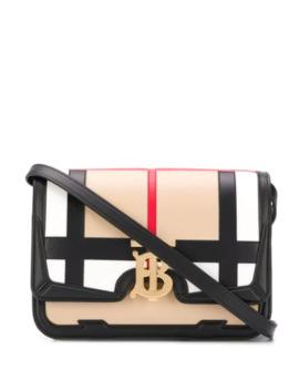 Tb Check Crossbody Bag by Burberry