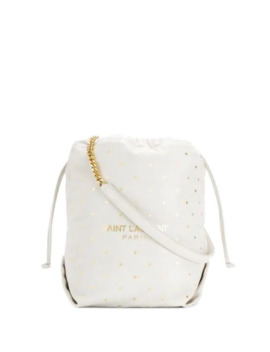 Star Print Shoulder Bag by Saint Laurent
