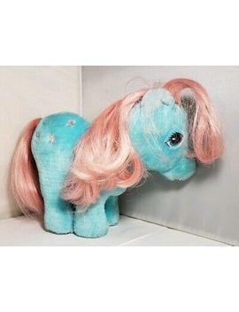 Vintage My Little Pony Plush Bow Tie Pony Hasbro Softies Bow Tie Plush Stuffed by Hasbro