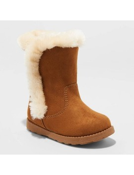 Toddler Girls' Katrina Shearling Boots   Cat & Jack™ by Cat & Jack