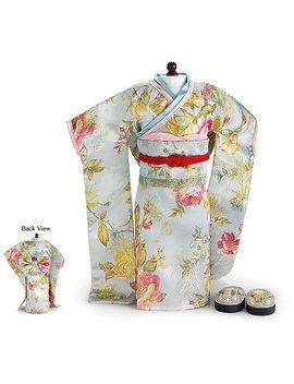 "Doll Clothes 18\"" Kimono Sun Blossom By Carpatina Fits American Girl Dolls by Carpatina"