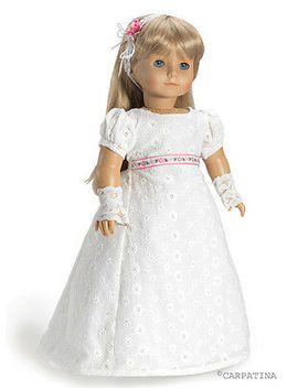 """Doll Clothes 18\"""" Dress Regency By Carpatina Made To Fit  American Girl Dolls by Carpatina"""