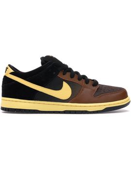 Nike Dunk Sb Low Black And Tan by Stock X