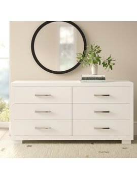 6 Drawer Double Dresser by Allmodern