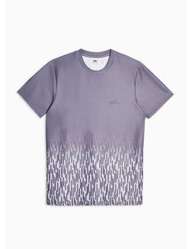 Geometric Dropout T Shirt by Topman