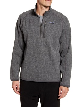 Better Sweater Quarter Zip Pullover by Patagonia