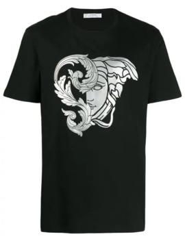 Medusa Print T Shirt by Versace Collection