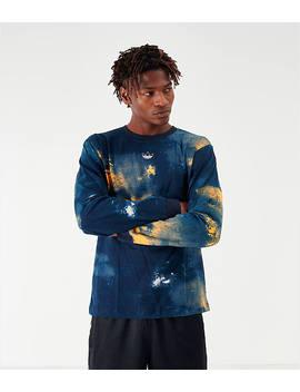 Men's Adidas Originals Watercolor Graphic Long Sleeve T Shirt by Adidas